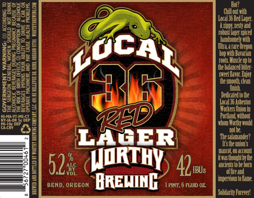 local 36 red lager
